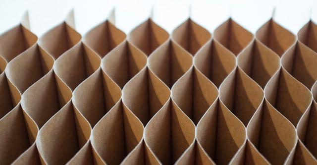 Honeycomb cardboard